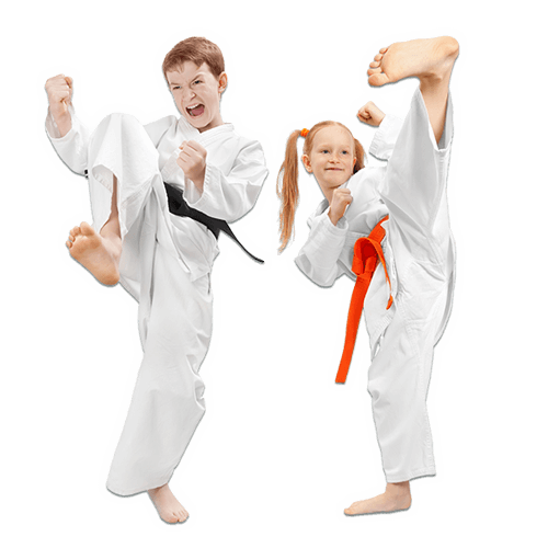 Martial Arts Lessons for Kids in Rockwall TX - Kicks High Kicking Together